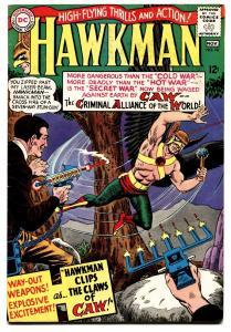 HAWKMAN #10 1966-SILVER AGE DC-12 cent- comic book