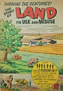 The Story of Land Comic 1961 VG/VG+ Soil Conservation Society - Ankeny Iowa