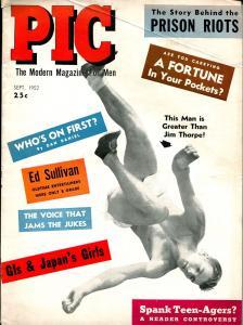 PIC 9/1952-Wagnner Pub-Dick Klamfoth-Daytona Motorcycle racing-Bob Mathias-VG/FN