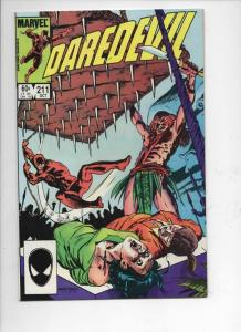DAREDEVIL #211 VF/NM  Murdock, Without Fear, 1964 1984, more Marvel in store