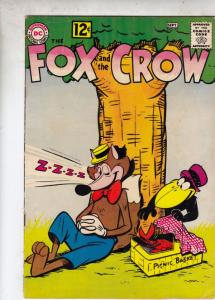 Fox and the Crow, The #75 (Aug-62) VG/FN Mid-Grade Fox and Crow