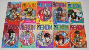 Xenon #1-23 VF/NM complete series - eclipse comics/viz manga heavy metal warrior