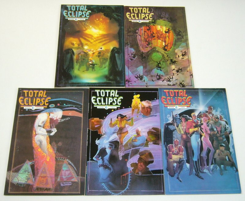 Total Eclipse #1-5 VF/NM complete series - miracleman - bill sienkiewicz set