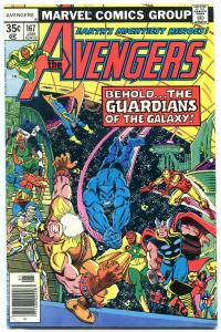 AVENGERS #167-Guardians of the Galaxy-MCU-Key movie comic book FN