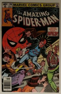 Amazing Spider-Man #206 (Newsstand) high grade! Milgrom Byrne Jonas Harrow