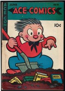 Ace Comics #111 (David McKay Publications, 1946) FN