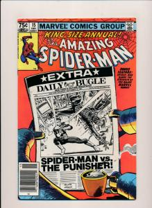 Marvel KING SIZE ANNUAL#15 the AMAZING SPIDER-MAN Frank Miller art F/VF (PF112)