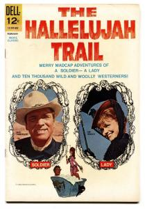 Hallelujah Trail #1-1966-comic book- Gold Key Silver Age vf/nm