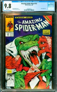 Amazing Spider-Man #313 CGC Graded 9.8 Lizard appearance.