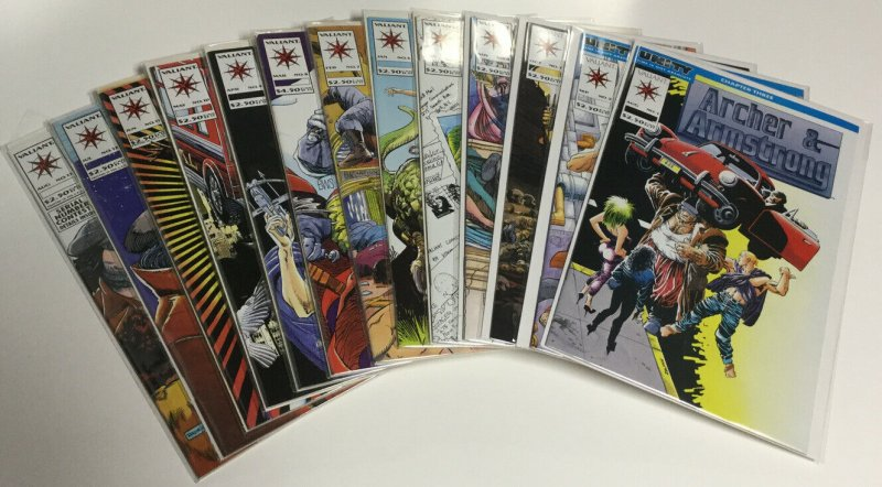 Archer And Armstrong 1-26 Nm Near Mint Valiant Comics