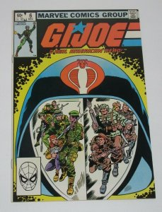 GI Joe #6 1st Appearance of the October Guard 1982 Marvel Comics VF/NM