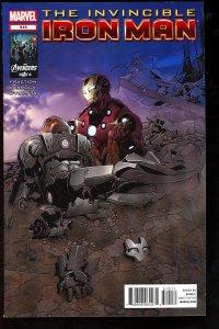 Invincible Iron Man #515 (2012)