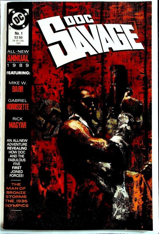 Doc Savage Annual #1 (1989)