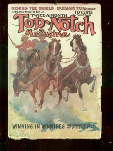 TOP-NOTCH SEPT 15 1912 STREET AND SMITH PULP STANDISH VG