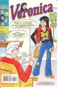 VERONICA (1989)72 VF-NM Feb. 1998 COMICS BOOK