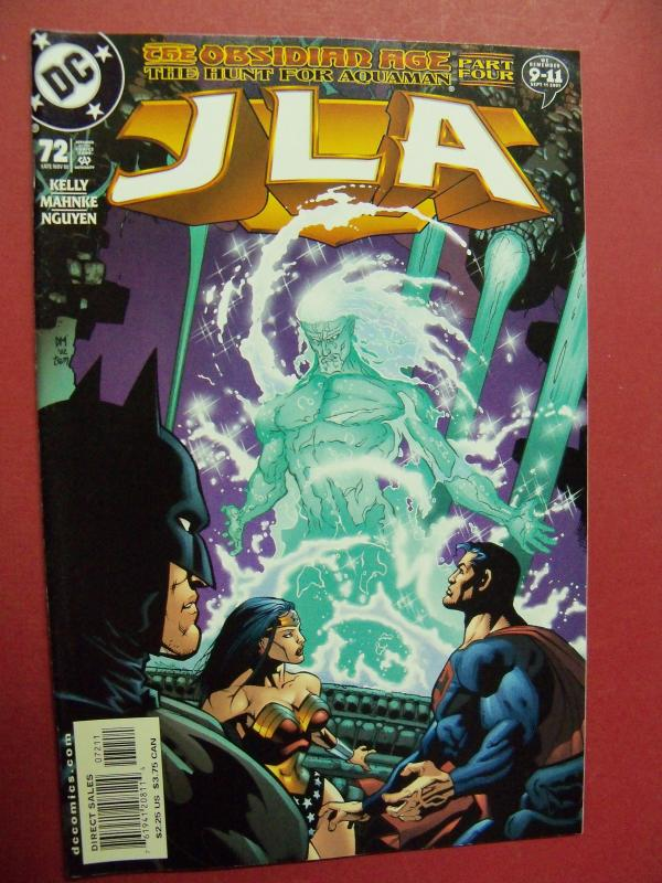 JUSTICE LEAGUE OF AMERICA  #72 VF/NM OR BETTER DC COMICS