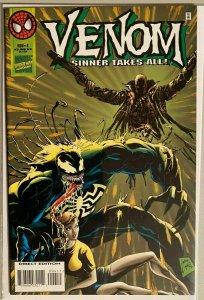 Venom sinner takes all ! #4 8.0 VF (1995)