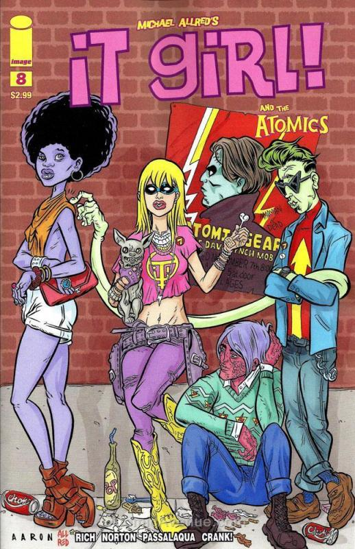 It Girl & The Atomics #8 VF/NM; Image | save on shipping - details inside