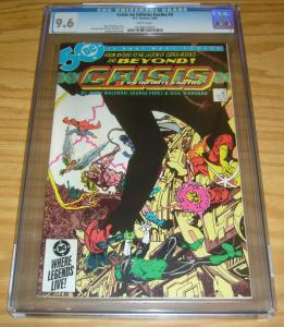 Crisis on Infinite Earths #2 CGC 9.6 marv wolfman - george perez - dc comics
