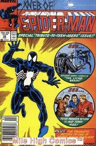 WEB OF SPIDER-MAN (1985 Series)  (MARVEL) #35 NEWSSTAND Fine Comics Book