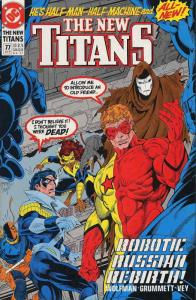 New Titans, The #77 VF/NM; DC   save on shipping - details inside