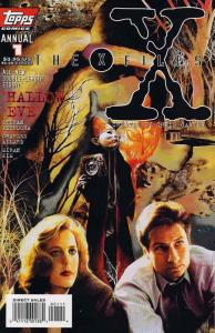 X-Files, The Annual #1 VF/NM; Topps | save on shipping - details inside