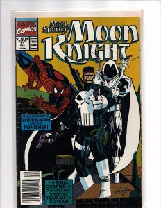Marvel Comics (1989) Marc Spector: Moon Knight #21 Punisher Spider-man