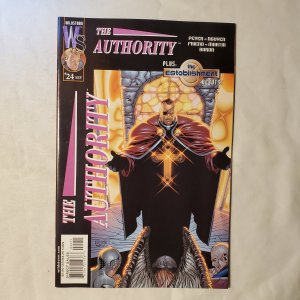 Authority 24 Very Fine/Near Mint Cover by Dustin Nguyen