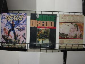 INDEPENDENT GRAPHIC NOVELS LOT OF 4 F-VF