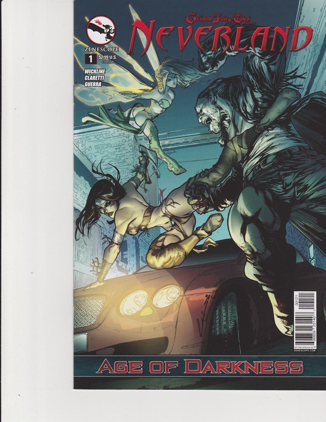 Neverland Age Of Darkness 1 Cover B Zenescope Comic Laiso HipComic