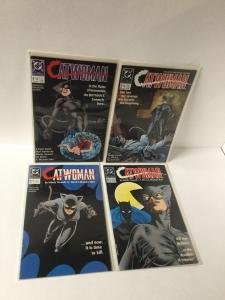 Catwoman 1 2 3 4 1-4 Nm Near Mint Complete Minseries Lot A25