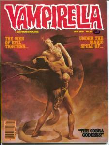 Vampirella #93 1981-Warren-Horror-Web of Evil-Pantha-Cobra Goddess-VF