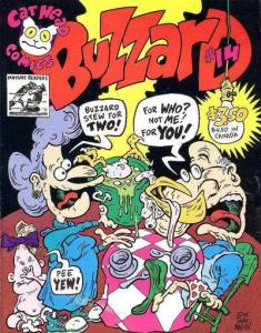 Buzzard (1990 series) #14, VF+ (Stock photo)