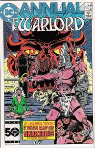 Warlord (DC) Annual #4 FN; DC | save on shipping - details inside