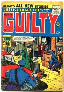 Justice Traps the Guilty #78 1955- Silver Age Crime comic VG-