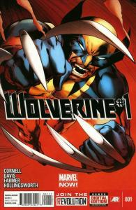 Wolverine (5th Series) #1 VF; Marvel | save on shipping - details inside