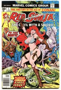 RED SONJA #1 1977-MARVEL-1st ISSUE VF+