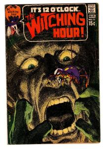 THE WITCHING HOUR #13 1971 DC NEAL ADAMS HORROR ART COMIC BOOK