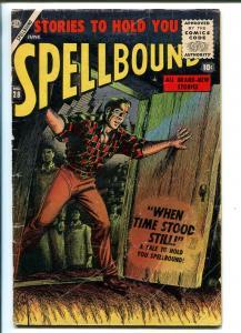 SPELLBOUND #28 1956-ATLAS-BILL EVERETT-JOHN ROMITO-GENE COLON-HORROR-good