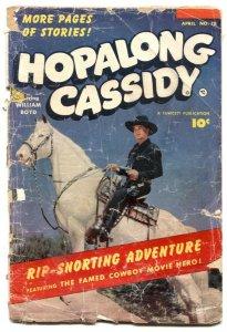 Hopalong Cassidy #78 1953- Fawcett Western- P/F