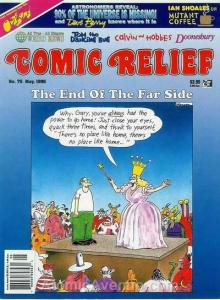 Comic Relief (magazine) #75 FN; Page One | save on shipping - details inside