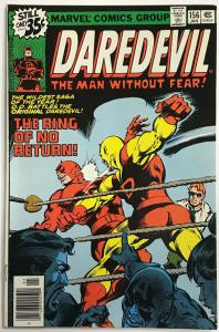 DAREDEVIL#156 VG 1979  MARVEL BRONZE AGE COMICS