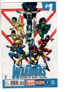 New Warriors (2014) 1 VF/NM (9.0) 2nd print variant RARE
