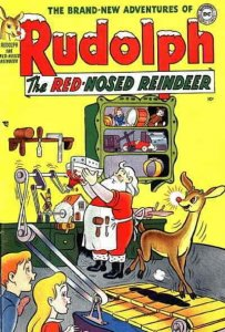Rudolph the Red-Nosed Reindeer Annual #1950 FAIR; DC   low grade comic - save on
