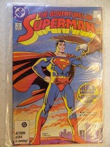ADVENTURES OF SUPERMAN # 424