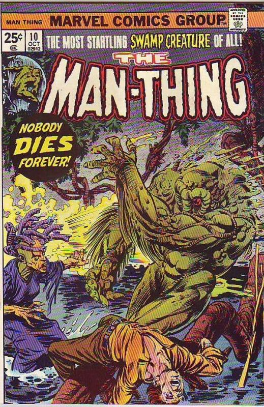 Man-Thing #10 (Nov-74) NM/NM- High-Grade Man-Thing