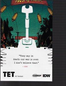 Tet #2 (IDW, 2015) VARIANT