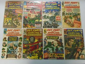 Silver age Sgt. Fury lot 56 different from #3-91 inc. annuals 4.0 VG (1964-71)