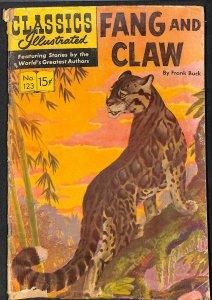 Classics Illustrated #123 (1954)