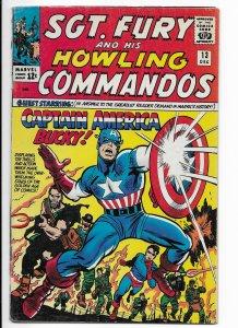 Sgt. Fury #13 (1964)